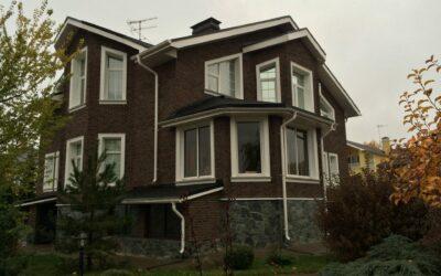 Строительные, фасадные и отделочные работы загородного дома